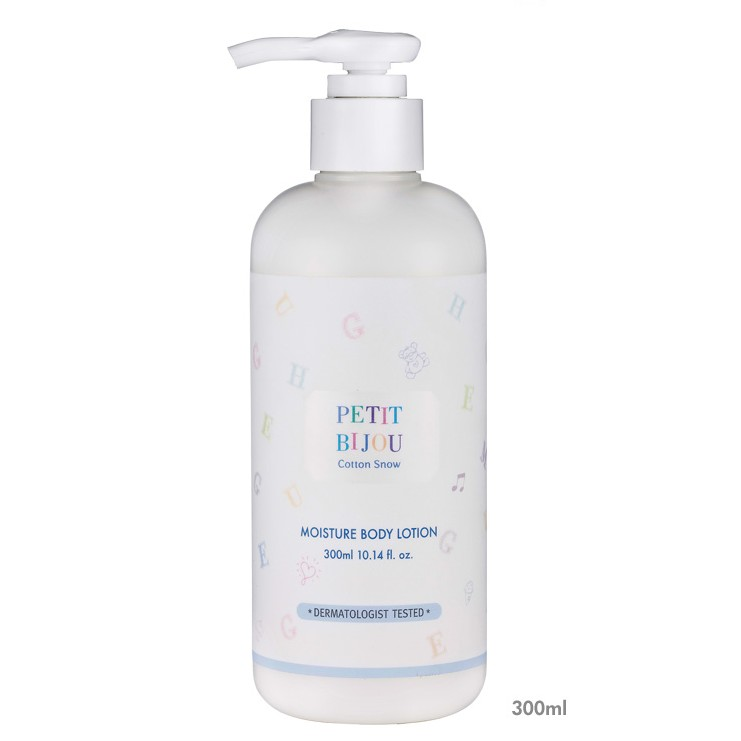 พร้อมส่ง Etude Petit Bijou Cotton Snow Moisture Body Lotion/wash 300ml./60ml.