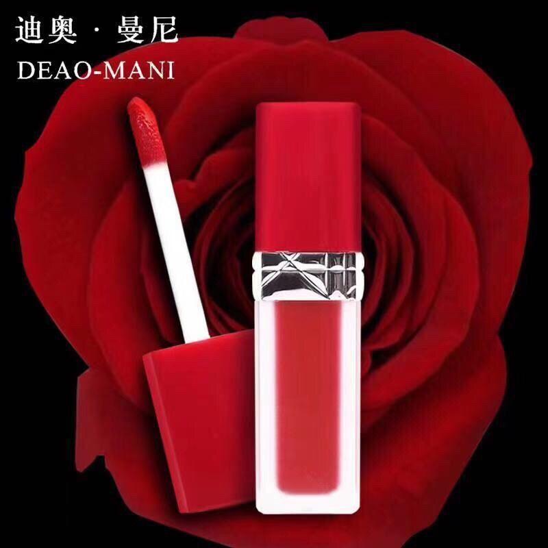 ▦✴Genuine Dior999 866707 ลิปกลอส Dior Mannilie Brilliant Blue Gold Lipstick ลิปกลอสลิปกลอส