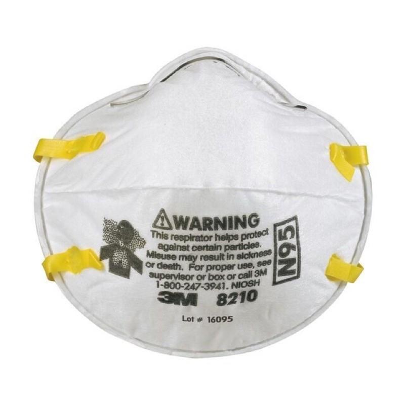 🚨🚨HOT!!พร้อมส่ง หน้ากาก 3m 8210 N95 ป้องกันฝุ่น PM2.5