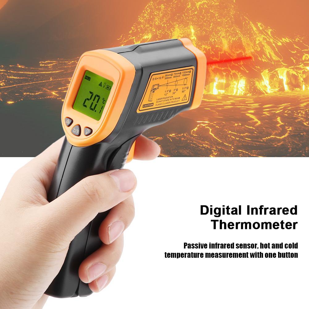เครื่องวัดอุณหภูมิดิจิตอล Single Channel K Type-50-1300 ° C GS | Shopee Thailand