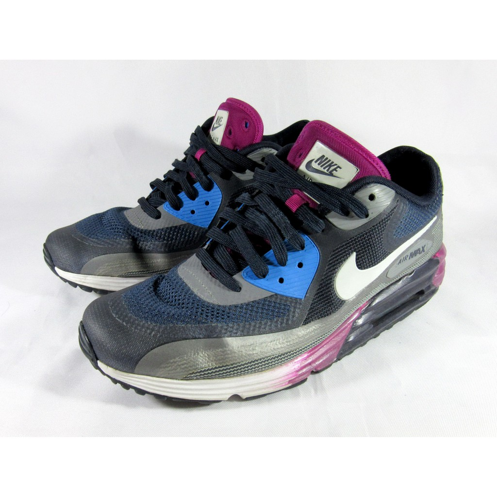 รองแท้าผ้าใบ Nike Air Max Lunar90 Midnight Navy Cool Grey SIZE 9.5us 8.5uk 43eur 27.5cm RARE ITEM