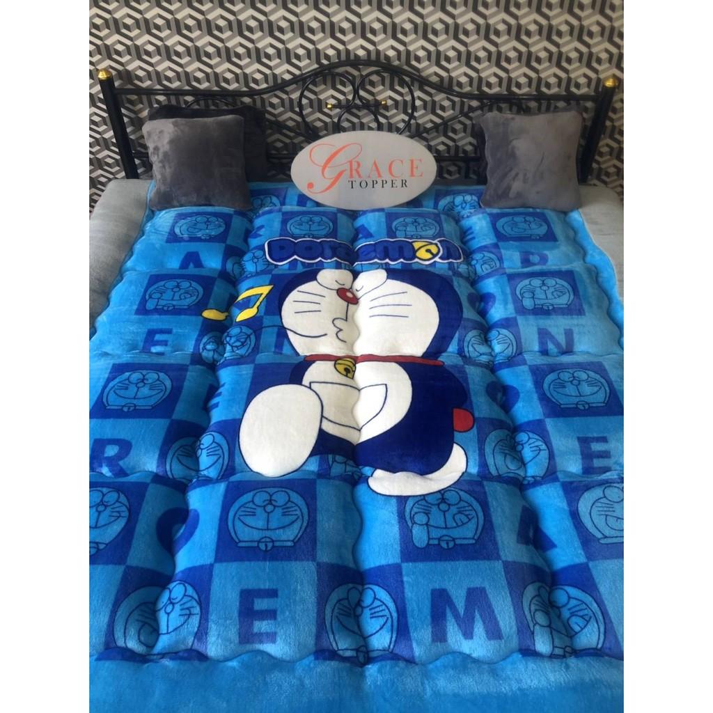 """Topper ขนเป็ดเทียมผ้านาโน 🔥ทอปเปอร์ ขนห่าน ขนแกะ topper 3.5/5/6 ฟุต แผ่นปูเตียง ท๊อปเปอร์ ที่นอนเพื่อสุขภาพ ที่นอนหนา4"""""""