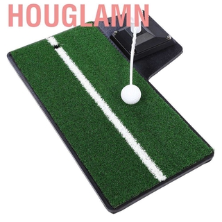Houglamn Indoor Outdoor Golf Hitting Putting Training Practice Swing Aid Modes Equipment