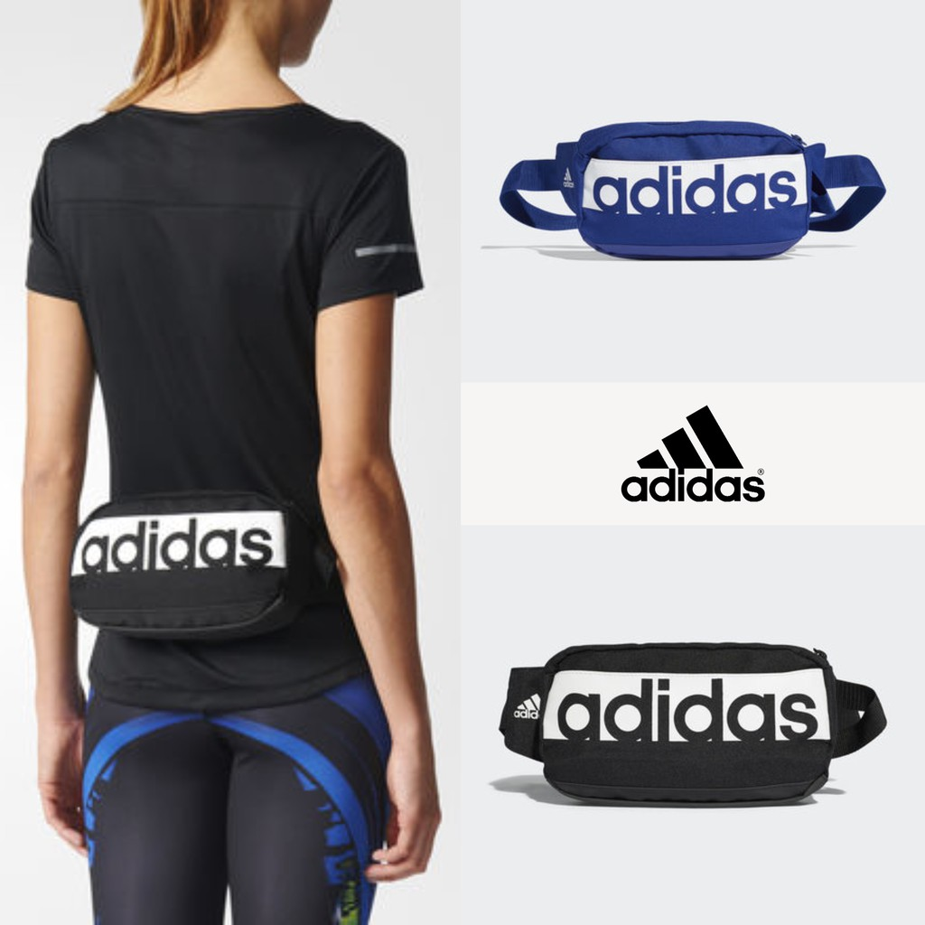 abfb188a98 Adidas Linear Performance Waist Bag - Mystery Ink
