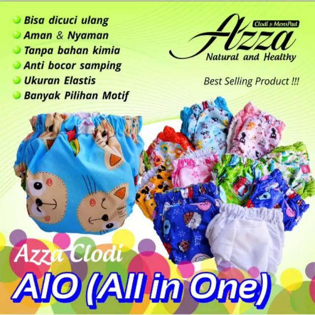 ผ้าอ้อม / ผ้าอ้อม Clodi Aio Azza