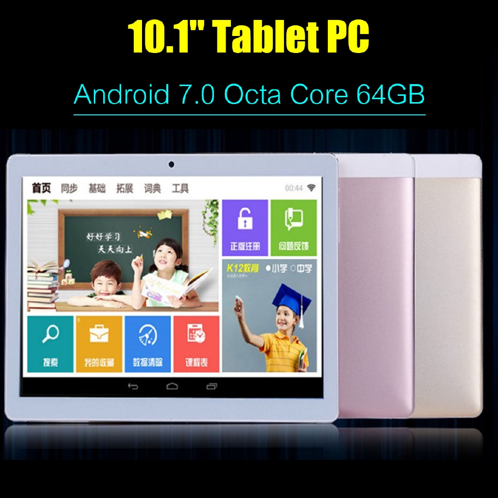 NEW 4G+16G Tablet PC Phablet 4 Colors Octa Core Android 8 0 2Ghz HD WIFI 2  SIM 10 Inch