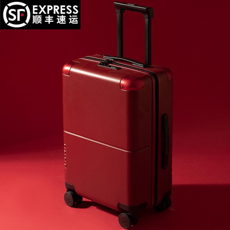 กระเป๋าเดินทาง28นิ้วสีแดงแต่งงานเจ้าสาวสินสอดทองหมั้น24กระเป๋าเดินทาง,การเดินทาง,ท่องเที่ยว20