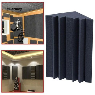 ★ Soundproofing Foam Acoustic Bass Trap Corner Absorbers for Meeting Studio Room