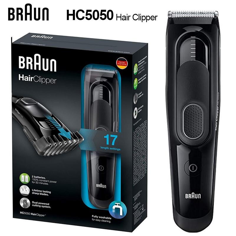 Braun Hc 5050 ปัตตาเลี่ยนไฟแสดงสถานะ 16 Led สําหรับเด็กผู้ชาย