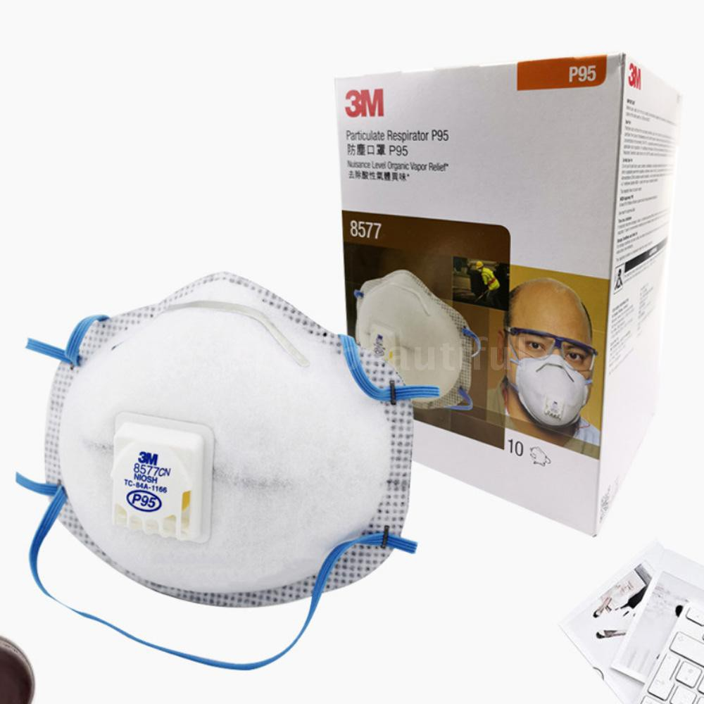 Head-mounted Carbon Spell♂3m Matter Organic Respirator Masks 8577 St Activated P95 Pm2 Particulate 5 Aganist