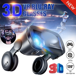 VR Glasses Smart Headset Heart Diffraction Glasses Box For VRG PRO Mobile Phone Dedicated 3D Games Adjustable Blue Light