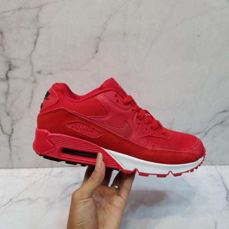 Nike Airmax 90 Read รองเท้าผ้าใบลําลองสีขาว