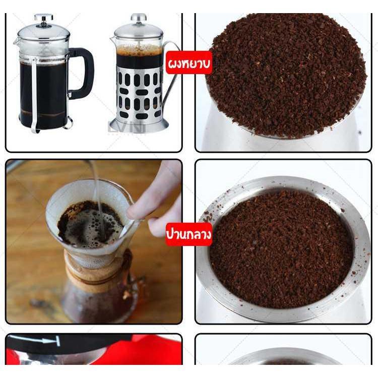 👍✅💯✔♛◙MBK เครื่องบดกาแฟ เครื่องบดเมล็ดกาแฟ 600N เครื่องทำกาแฟ EP25