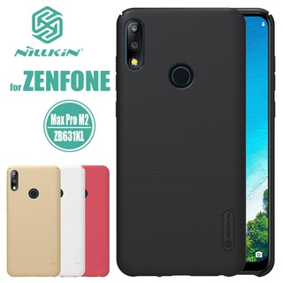 Review Original NILLKIN เคส Asus Zenfone Max Pro M2 ZB631KL รุ่น Super Frosted Shield