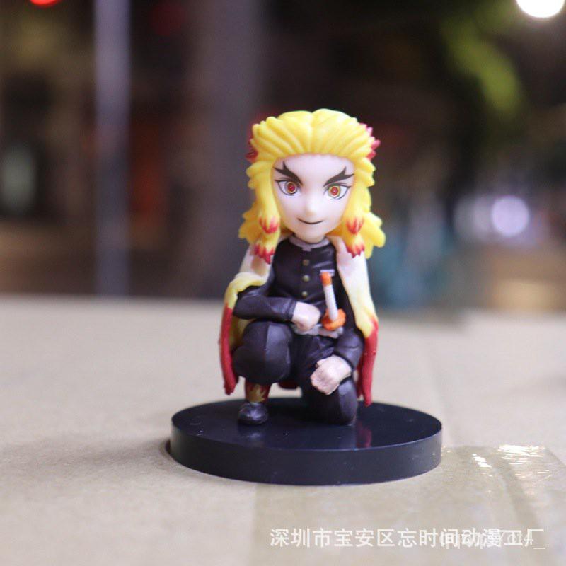 Demon Slayer's Blade Wcf Column 4 Styles 1 Set Tomioka Giyuu Kochou Shinobu Rengoku Kyoujurou Figure Model Decoration#¥%