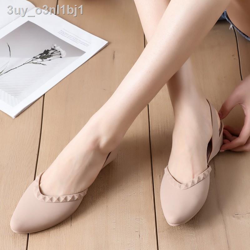 🔥มีของพร้อมส่ง🔥ลดราคา🔥❉▼✗Berry Mall ของแท้ 100% รองเท้าคัทชู ผญ รองเท้าคัทชูผญ รองเท้าคัทชูว รองเท้าแตะคัทชู รองเท้