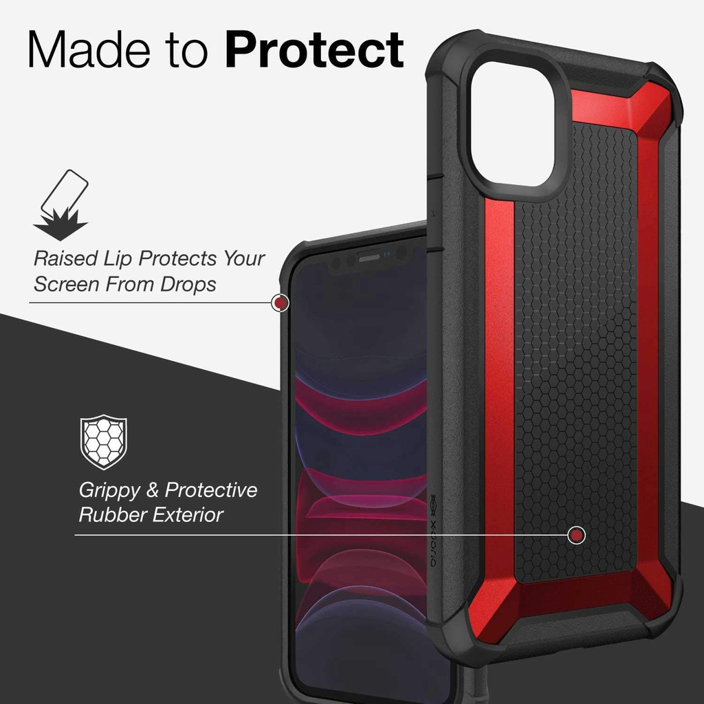 Image # 1of Review X-Doria TACTICAL For iPhone 11ProMAX / 11Pro / 11 เคสกันกระแทก 3เมตร ของแท้ 100%