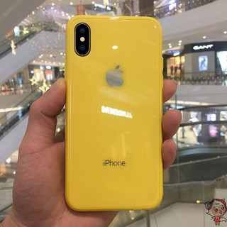 Image # 0 of Review เคสเอฟเฟคเเก้ว สีสันสดใส สำหรับ  iPhone 11 pro max i11 6 6 S 7 8 Plus X XR XS Max phone Case