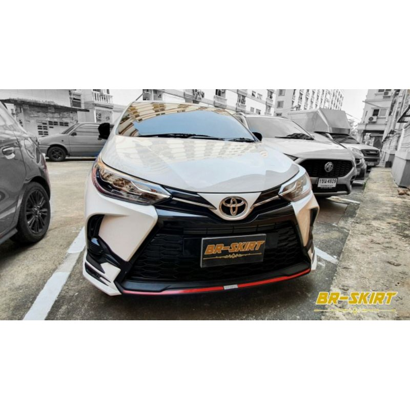 🔸️ชุดแต่งสเกิร์ต Toyota Yaris 2020-2021 Drive68 แท้🔸️