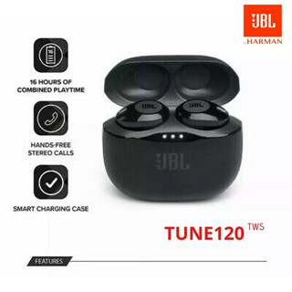 Review หูฟังไร้สาย JBL TUNE120 TWS True Wireless Bluetooth with Mic Wireless Earphones Invisible Touch Control Sports Earphone