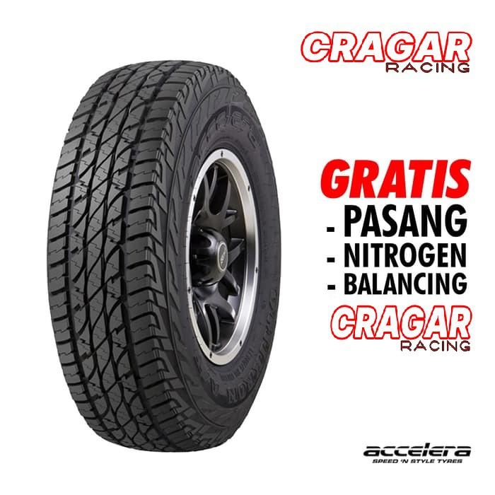 ยางรถยนต์ 265 / 65 R17 ราคาถูกที่สุด Omikron A / T 265 แหวน 17 Accelera
