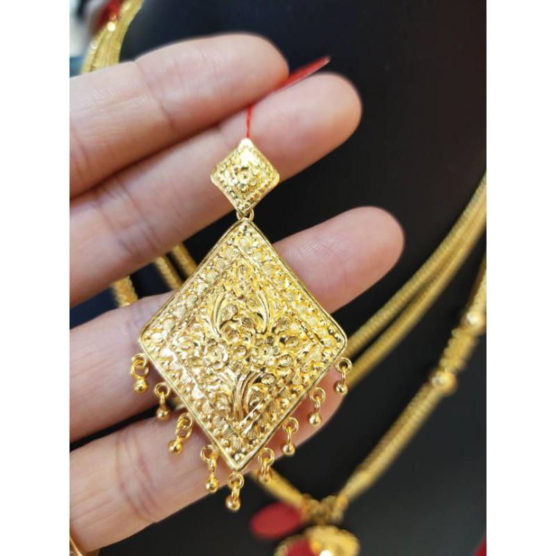 ซืัอเฮงใส่ดี จี้ทองแท้ 96.5%  น้ำหนัก 2 สลึง ราคา 15,200บาท
