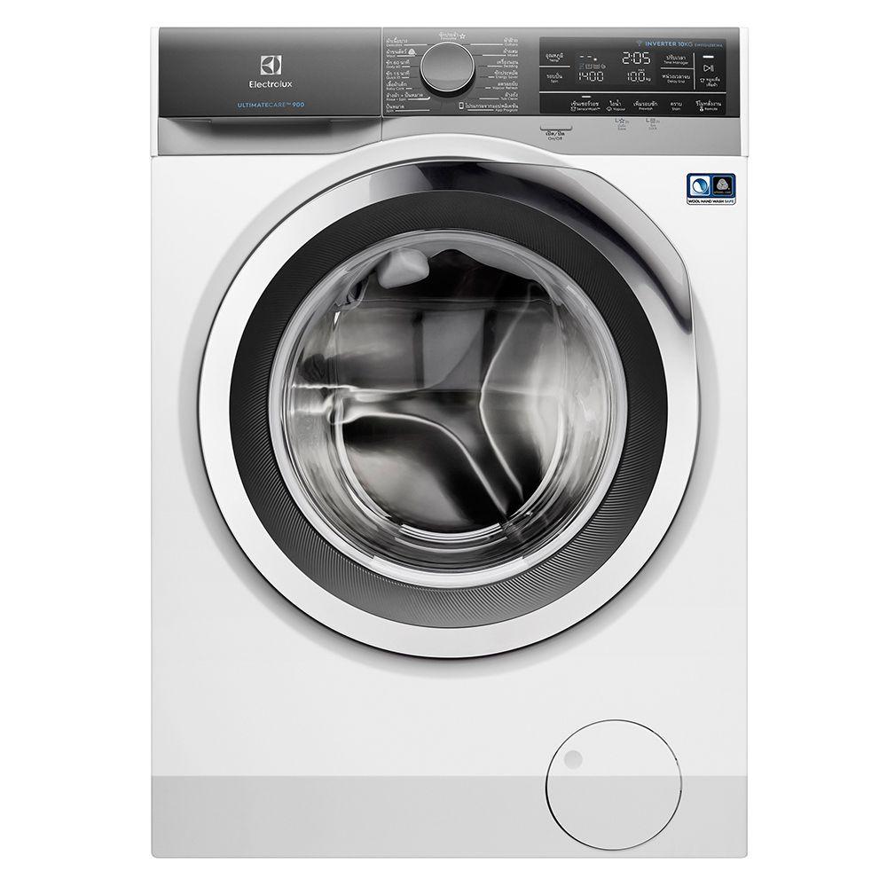 Washing machine FL WM ELE EWF1042BEWA 10KG INV Washing machine Electrical appliances เครื่องซักผ้า เครื่องซักผ้าฝาหน้า E