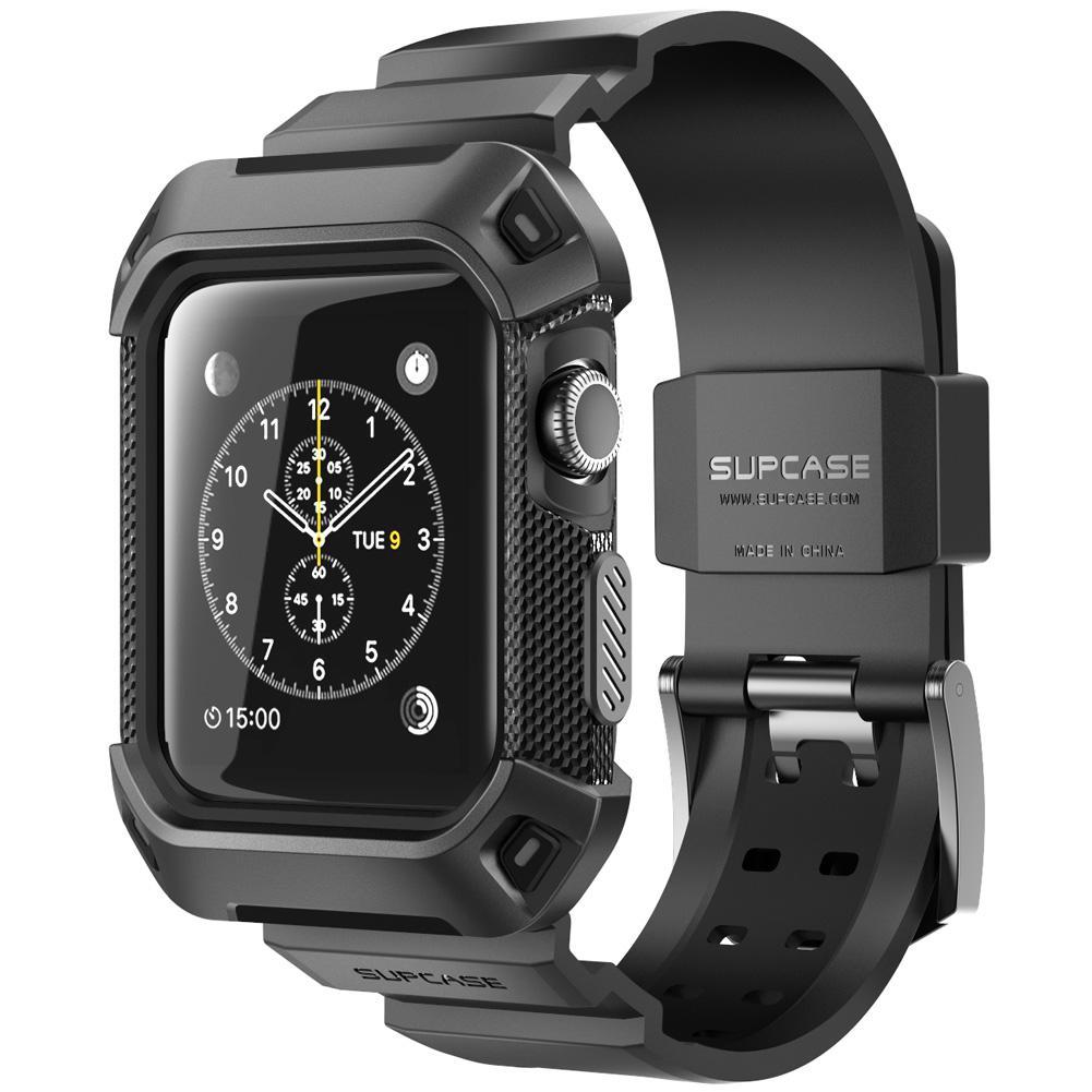 สำหรับ Apple Watch 3 42 Case มม.กรณี SUPCASE ทนทานกับสายคล้องคอ (not include watch)