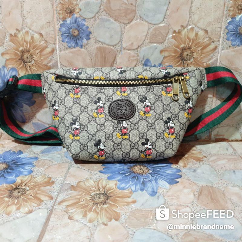 Gucci X Disney Micky Mouse Belt Bag