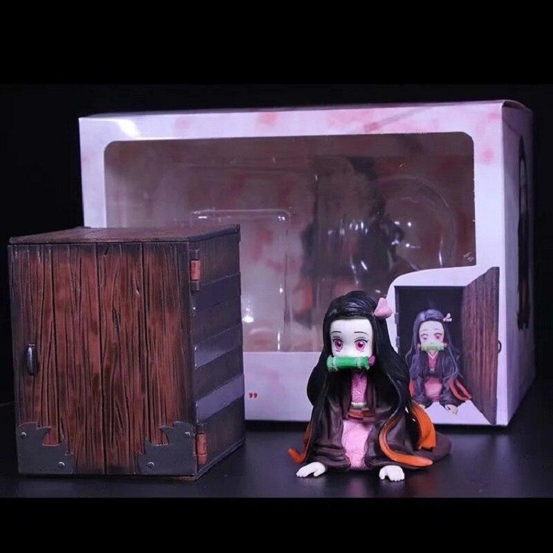 GZTZNY Anime Demon Slayer Kamado Nezuko Action Figure Kimetsu No Yaiba PVC Model Toys