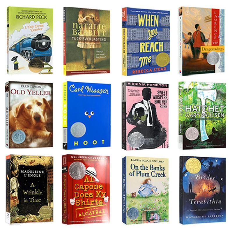 Hot Books Newbery หนังสืออ่านนอกเวลาภาษาอังกฤษ