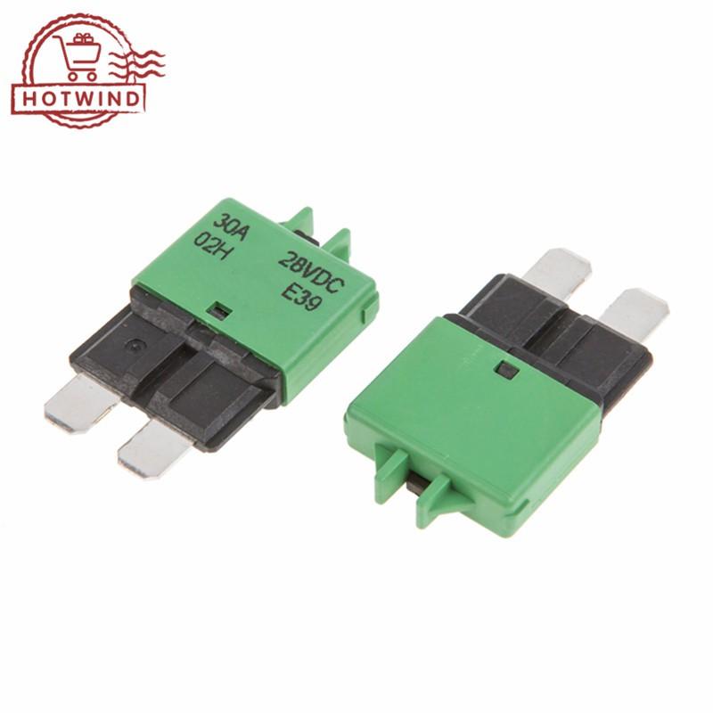 30 Amp Auto-Reset ATC//ATO Blade-Style Circuit Breakers