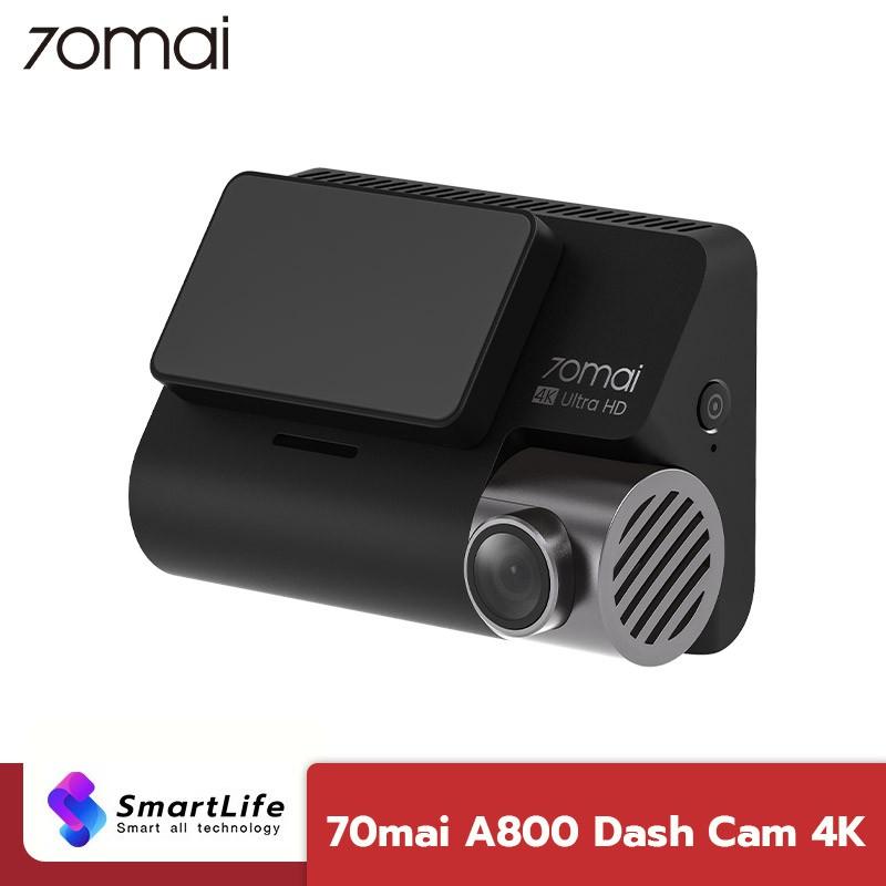 70mai A800 Dual-Vision 4K Dash Cam กล้องติดรถยนต์ความละเอียด 4K