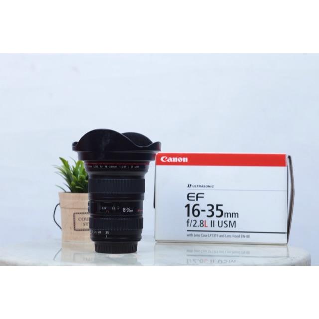 Lens canon 16-35 f2.8ii รหัส UD