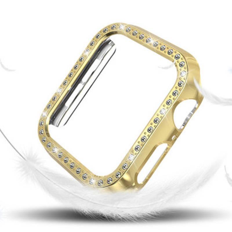💥 สาย applewatch 🔥 เคส Apple Watch Apple watch4 PC Case 5 Frame with Diamond Case 44MM 40MM38 42
