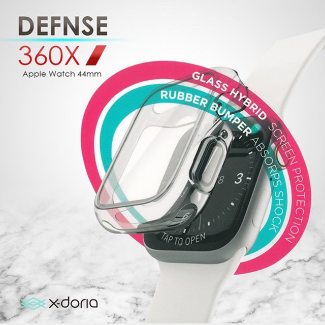 Hit! 🔥X-Doria 360X 40/44MM เคสคลุมหน้าจอ สำหรับ AppleWatch Series4 ของแท้💯 ฮิต!