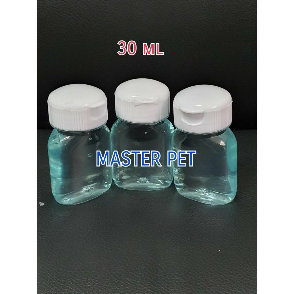 ขวดเจลล้างมือ ขนาด30,60,100,150,250 Ml.