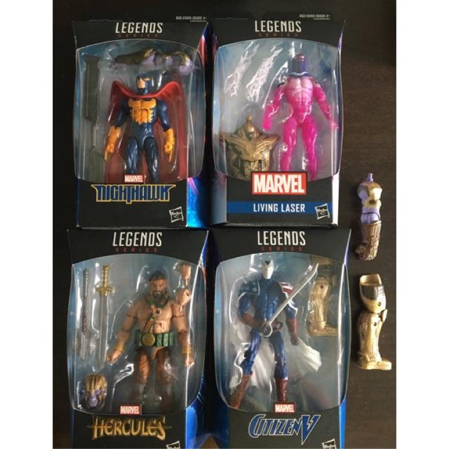 Marvel Legends ** HERCULES AVENGERS ENDGAME THANOS BAF ** NEW COMPLETE