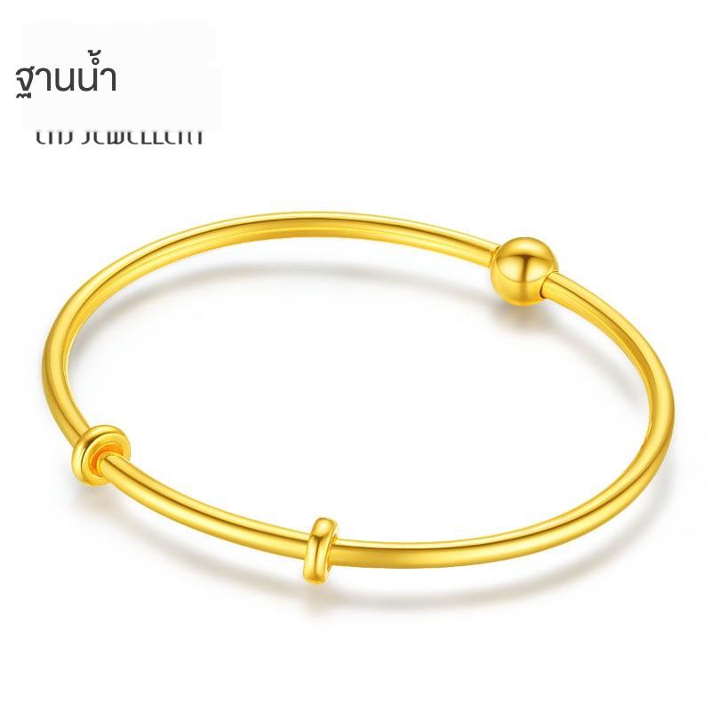☽❂Trendy Acer Jane กำไลข้อมือสร้อยข้อมือทองสร้อยข้อมือทองคำแท้สร้อยข้อมือหญิงราคา E