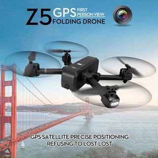 With GPS NEVER LOSE!!SJRC Z5 5G WIFI-FPV FHD1080P Camere GPS Drone AU-TO Follow Come back when battery die or lose signa