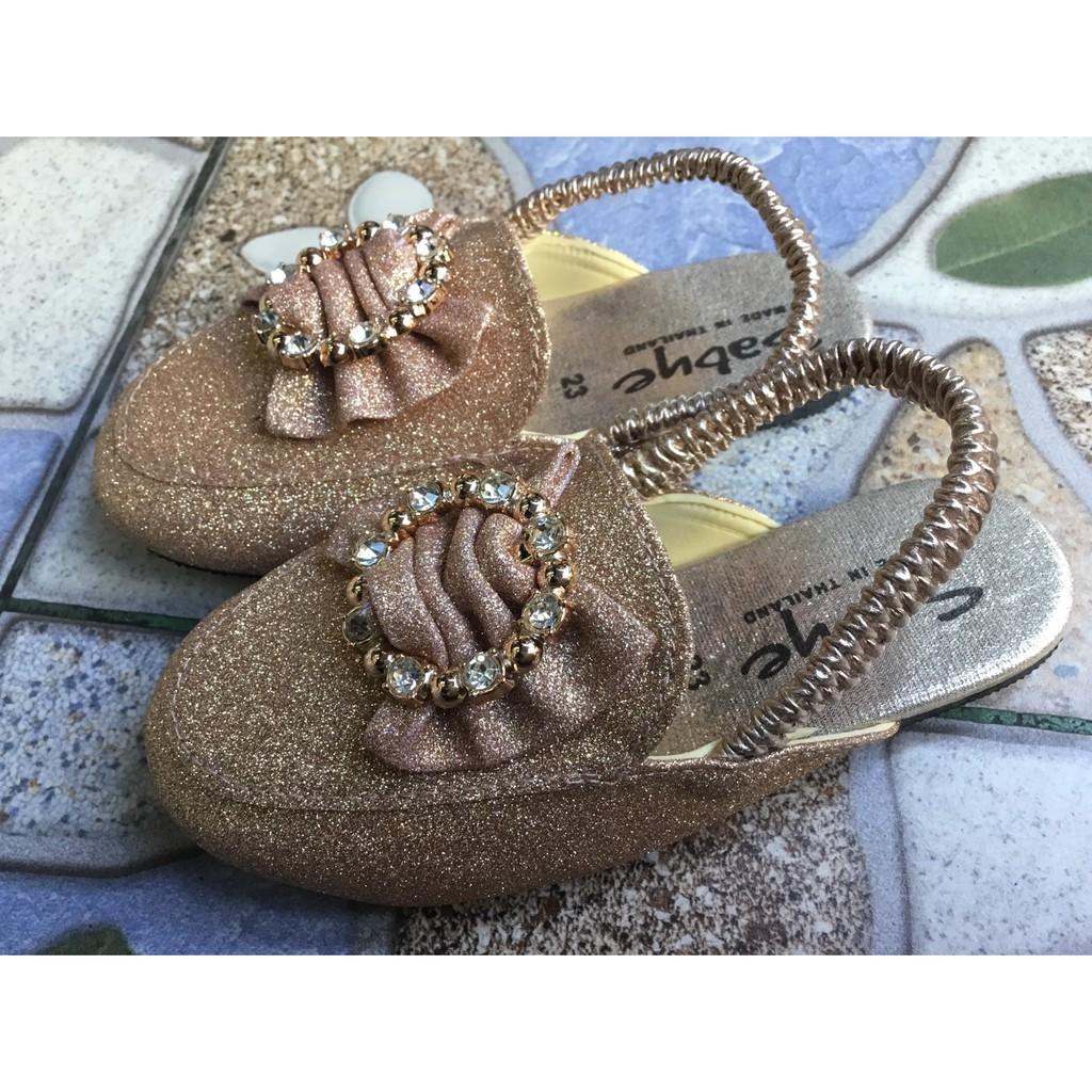 รองเท้าคัชชูรัดส้นเด็กสีทองกาก /รองเท้าเด็กใส่ออกงานน่ารักๆ/รองเท้ารัดส้นเด็ก#รอรองเท้าเด็กชายรองเท้าเด็กหญิง
