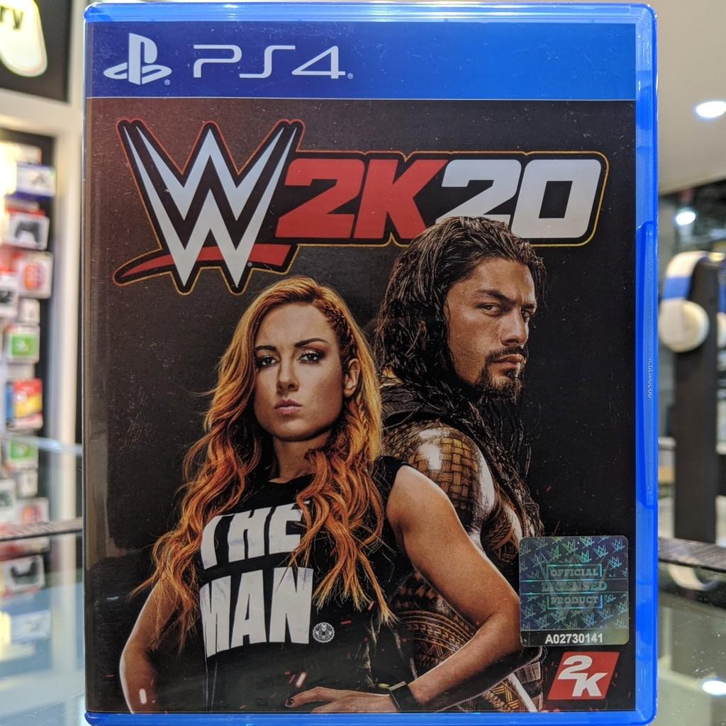(โซน3,ภาษาอังกฤษ) มือ2 WWE 2K20 แผ่นเกม PS4 แผ่นPS4 มือสอง (มวยปล้ำ เล่นได้2คน เกมกีฬา WWE2020 WWE 2020 WWE2K20 W2K20)