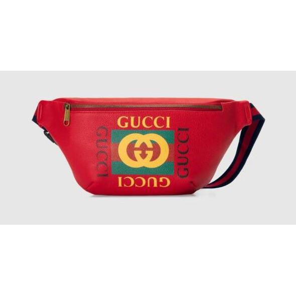 🔥GUCCI belt bag Red Size Large อุปกรณ์ครบ ของแท้ 100% 🔥
