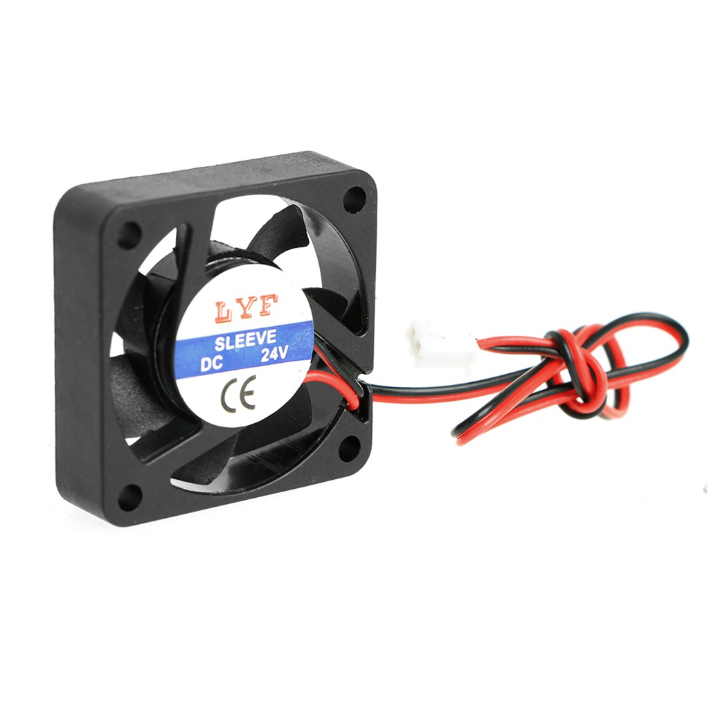DC Brushless Cooling PC Computer Fan 12V 24V 4010s 40x40x10mm 0.1A 0.15A 2Pin UE