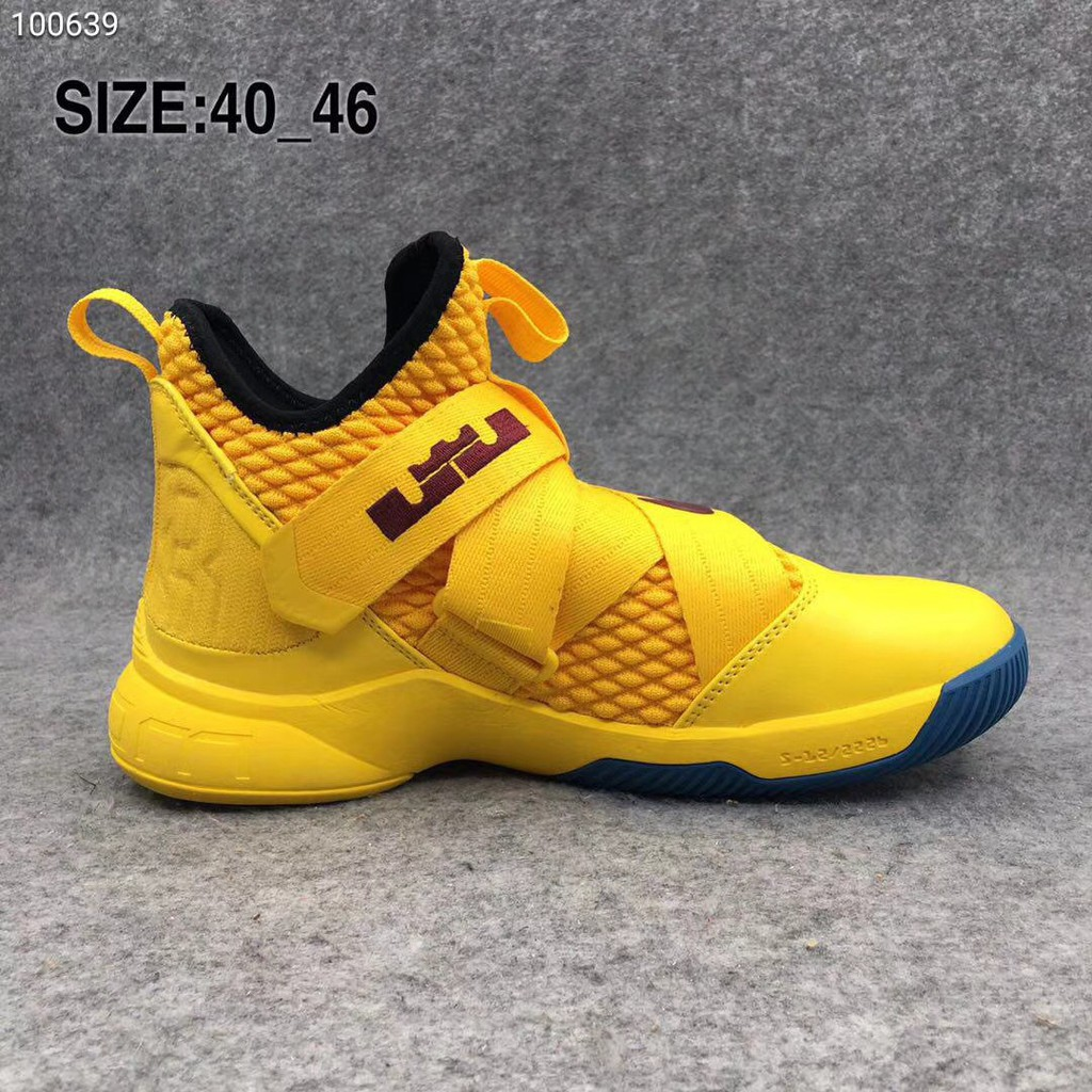 863922166c2 Nike James soldier 12 original comfortable basketball shoes