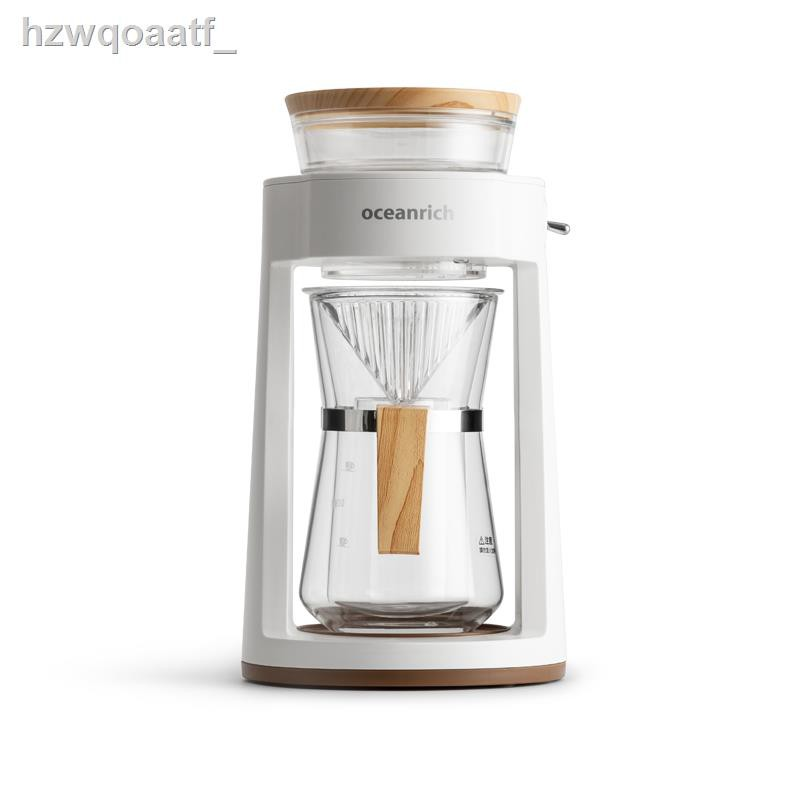 ✈♤☋เครื่องชงกาแฟแบบหยด oceanrich/Ouxinrich เครื่องทำกาแฟด้วยมือแบบอัตโนมัติ กาน้ำชาสำนักงาน