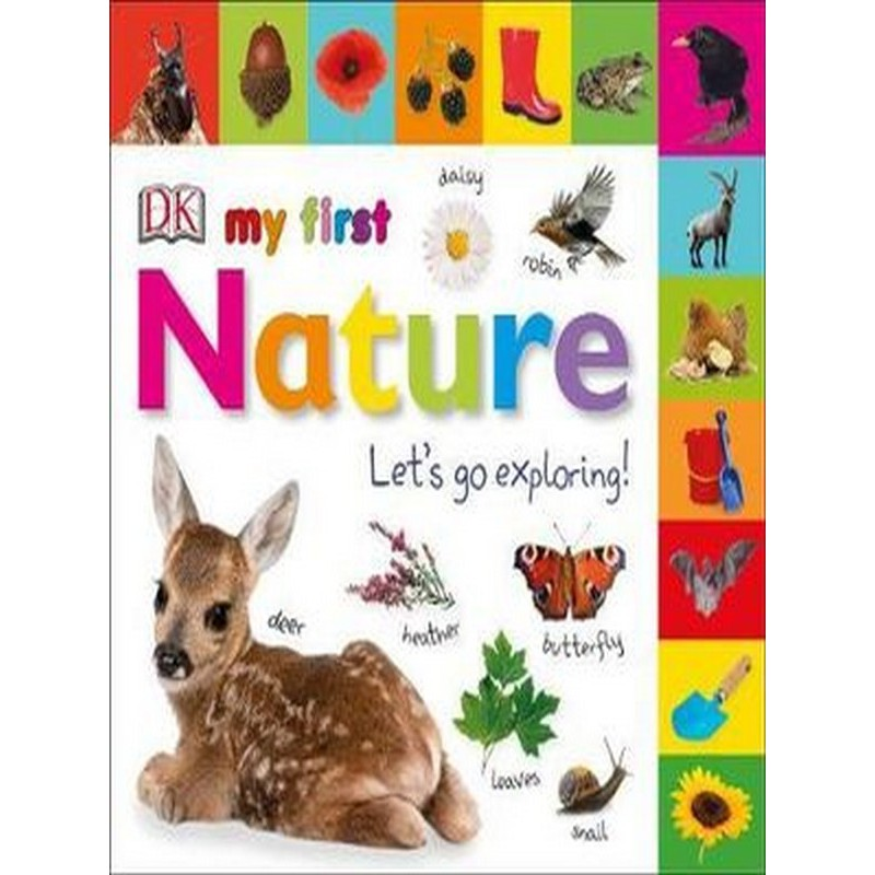 Asia Books หนังสือภาษาอังกฤษ MY FIRST NATURE LET'S GO EXPLORING (TABBED BOARD BOOKS)