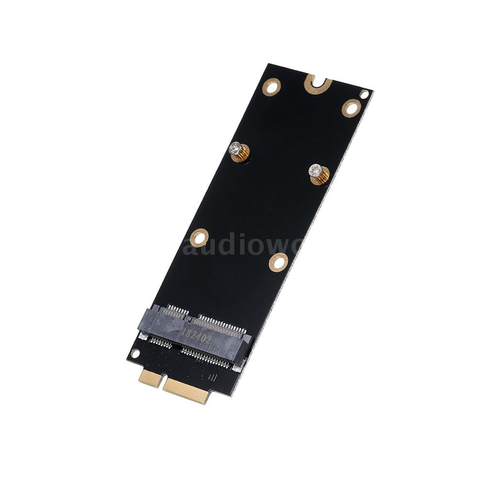 mSATA SSD To 2012 SSD 7+17Pin Adapter Card for MacBook Pro A1398