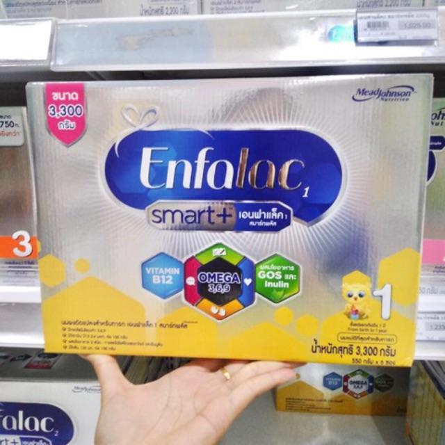 Enfalac smart+ สูตร 1 3300 กรัม