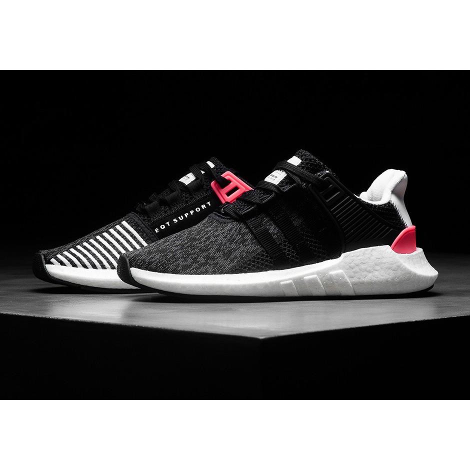Adidas Originals EQT Support 9317 Black Turbo Red